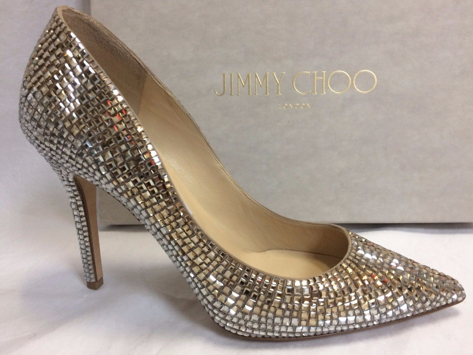 JIMMY CHOO - Abel 100 snakeskin talons courts : Chaussure Fashion
