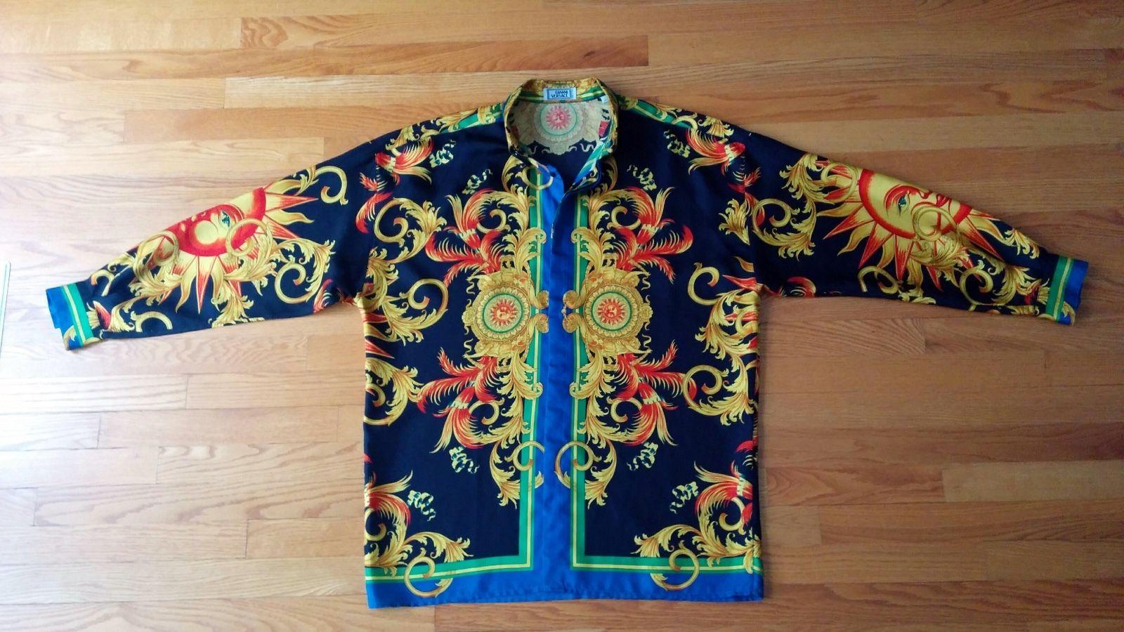 Versace Un Top 5 De Chemises A Prix Extraordinaires