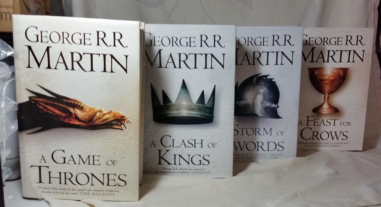 Games Of Thrones Les Livres De La Saga Vendus A Des Prix